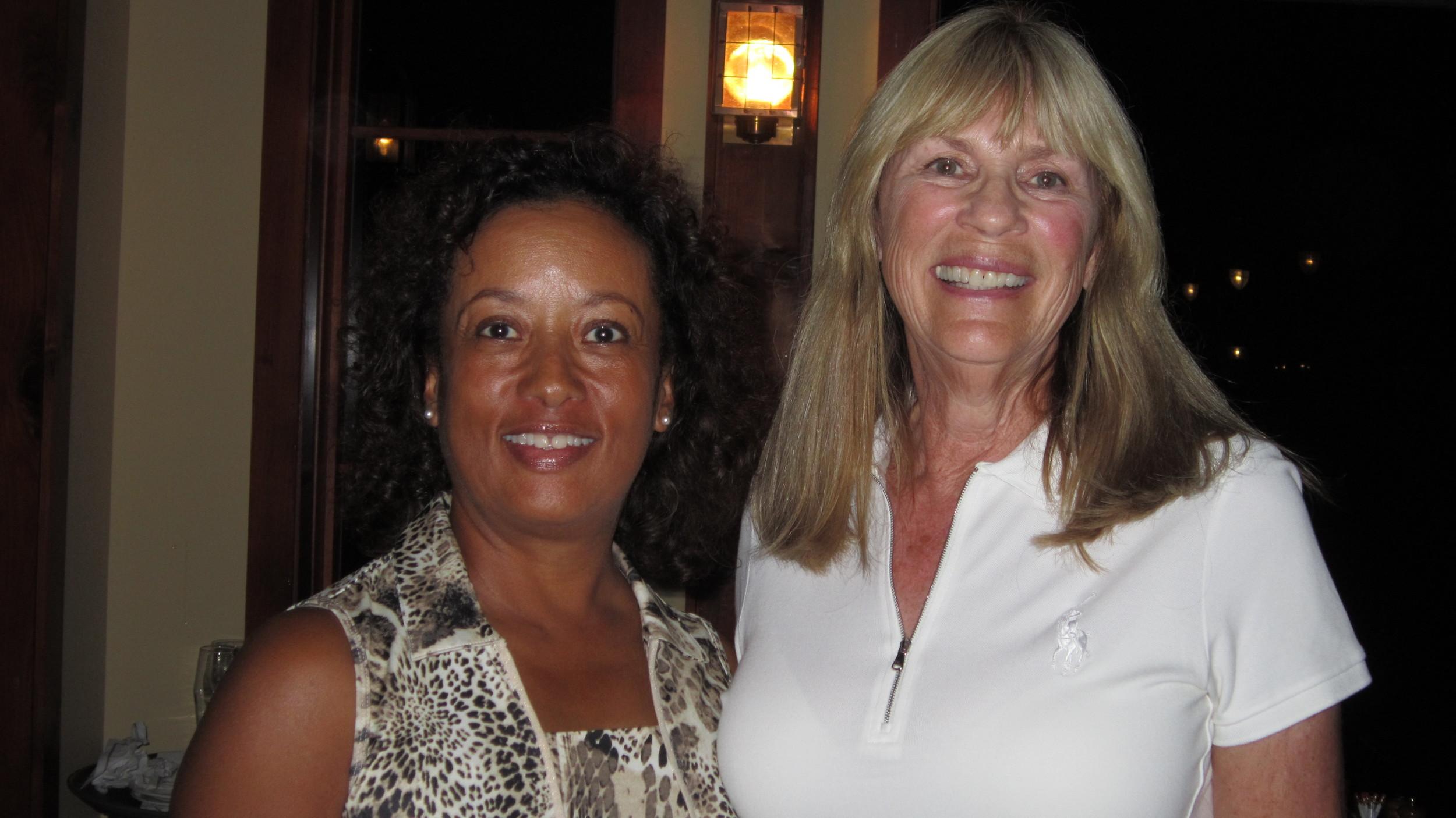 Diana Riley and Patsy Zalokar