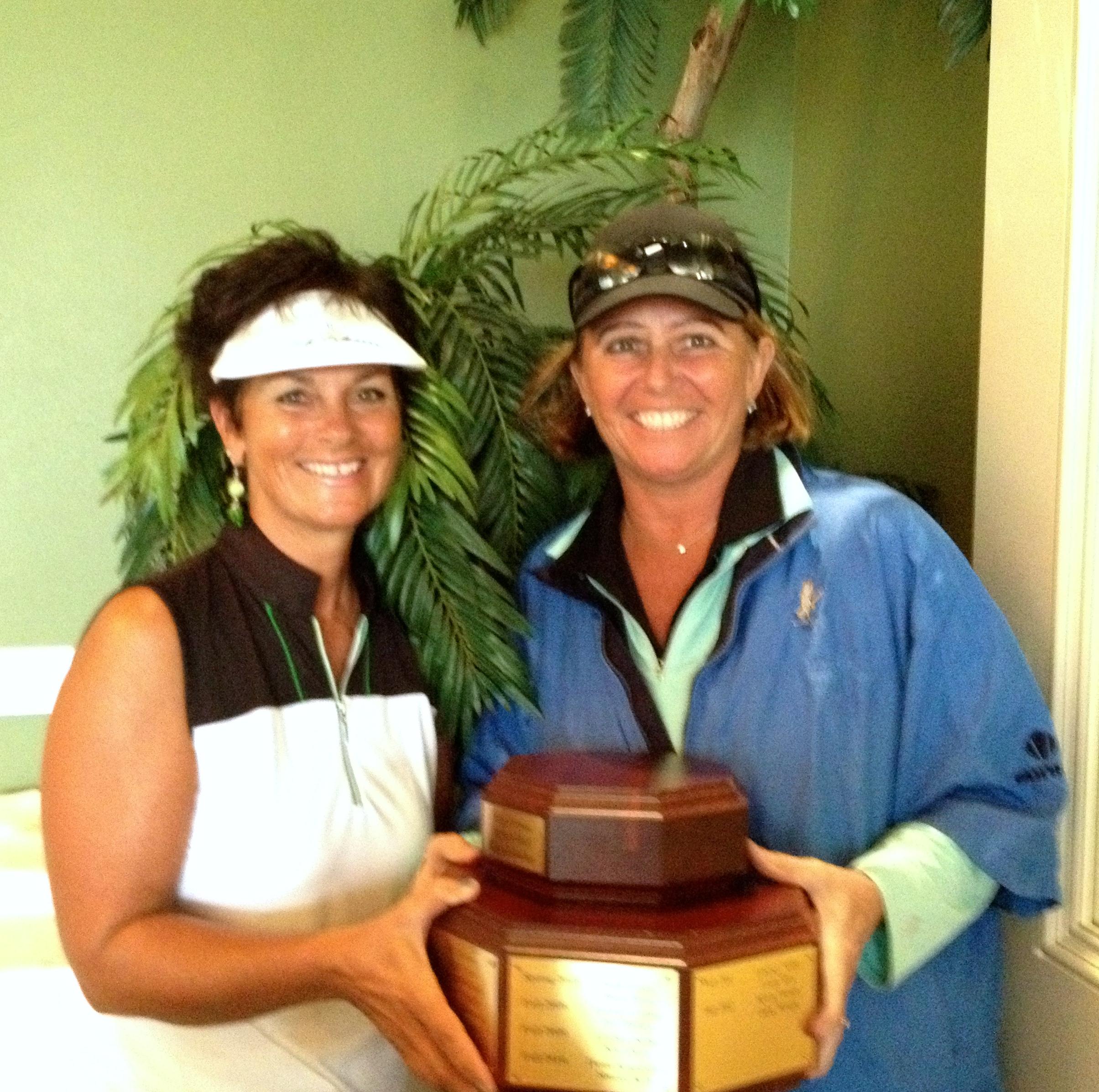 Donna Gravel and Linda Hartz