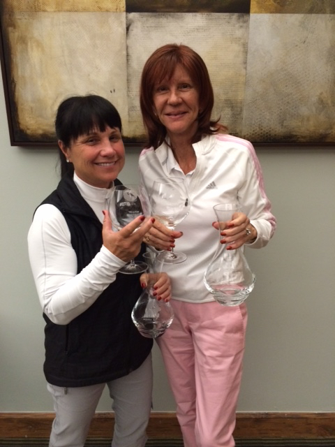 Karen French and Cathy Wright