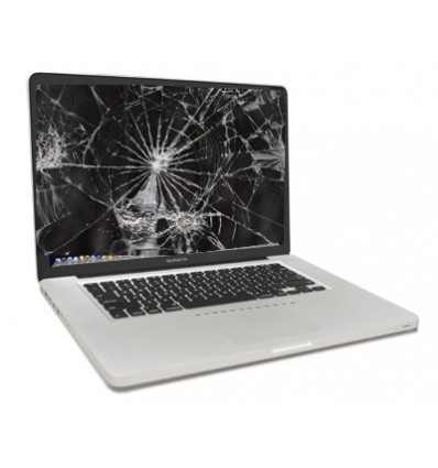 Smashed Mac LCD