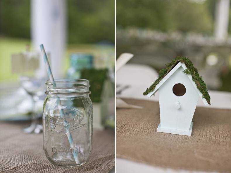 As it turns out, Erin is the master of the do-it-yourself wedding, and the details of this one blew me away!