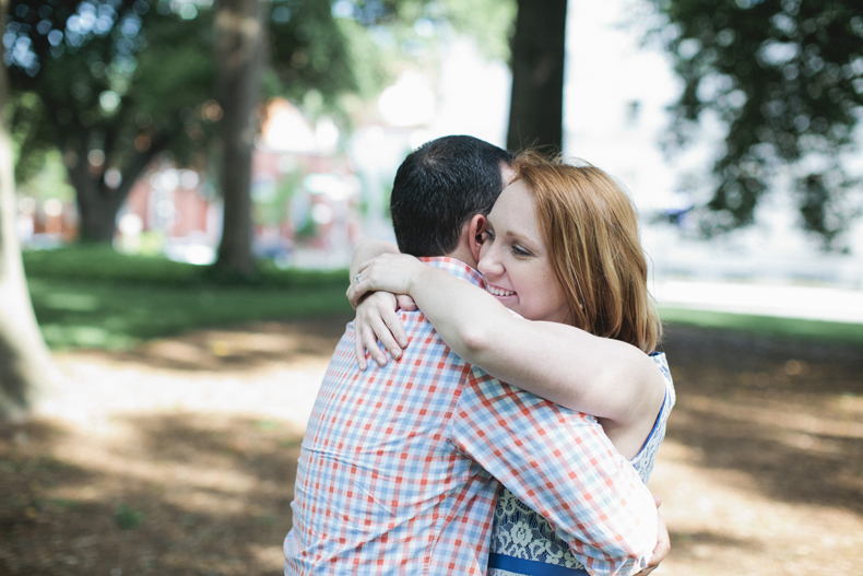 The hug.