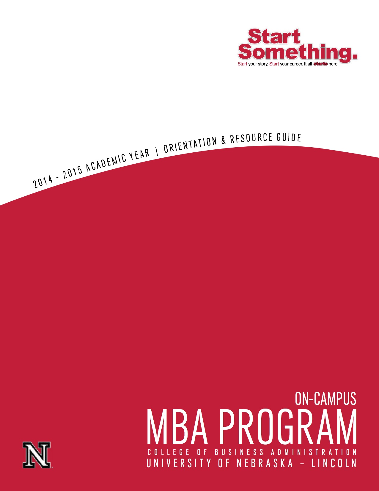 MBA Orientation Book cover