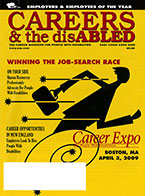 Careers & the disABLED—East Coast Expo 2009