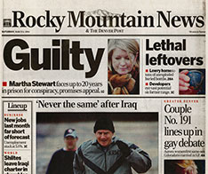 Rocky Mountain News—March 6, 2004