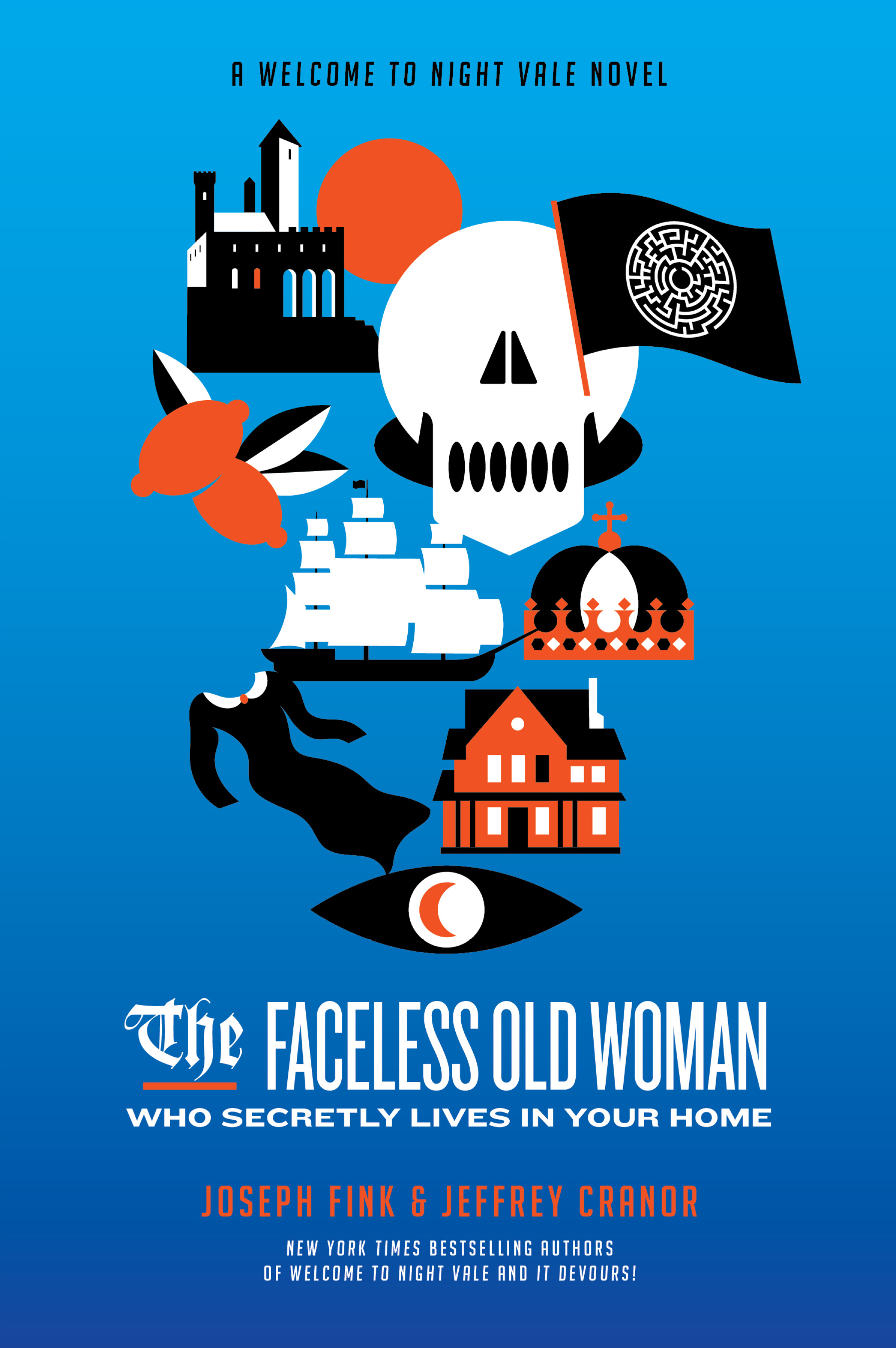 Faceless Old Woman Who Lives in Your Home hc c.jpg