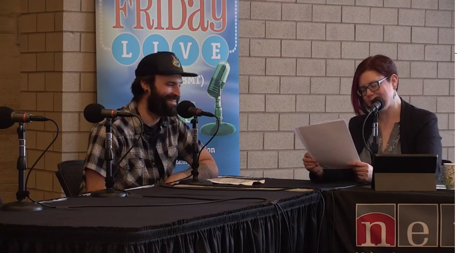 NET LIVE Friday Jan 25th 2019 - Dustin performs a song and is interviewed by Genevieve in promotion of upcoming 2019 shows in NE region.