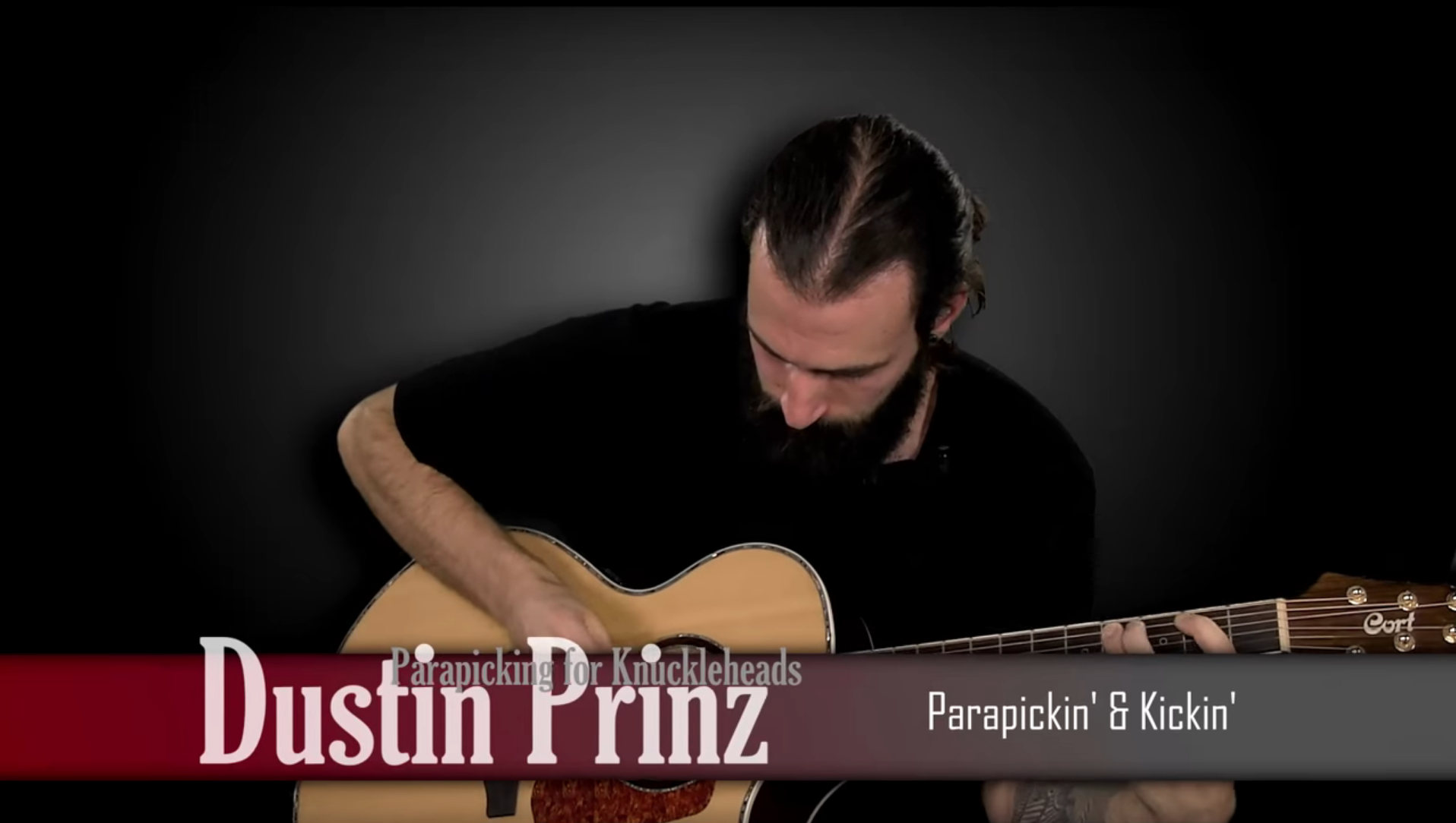 Video 4 - Learn how to add a kick drum a snare sound with your right picking hand! All while doing alternate picking and string skipping! Dustin runs through another simple to learn riff.