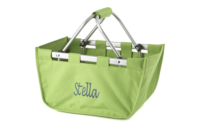 MINI MARKET TOTE, lime