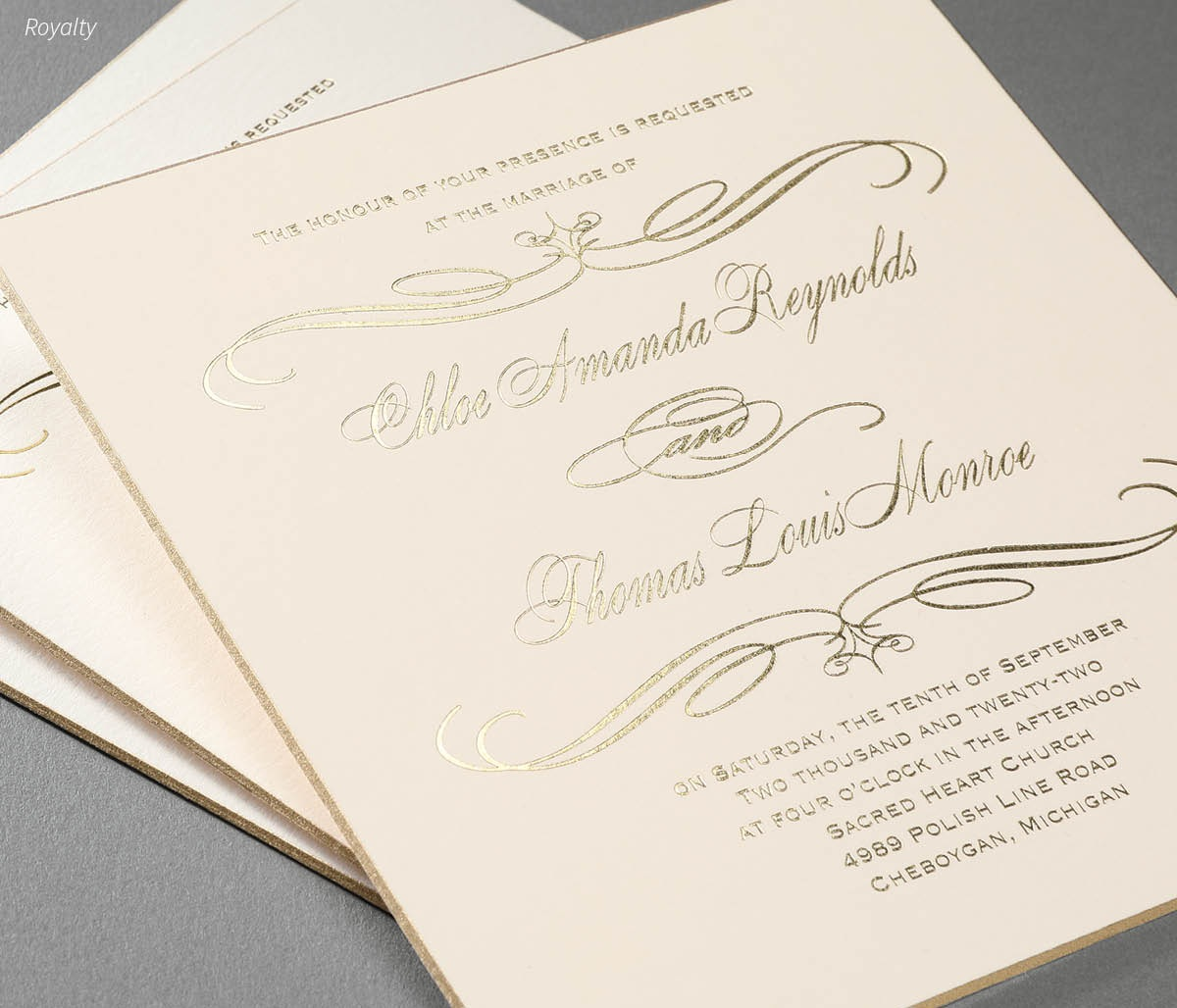 """INVITATIONS - Invitation Suites, Pockets, All """"N Ones, Response Cards, Reception Cards, Map & Accommodation Cards, & Thank You Cards"""
