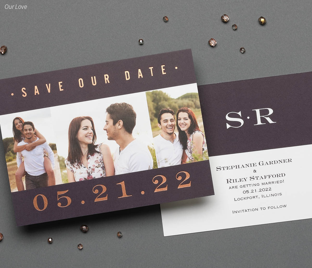PRE-WEDDING - Save the Dates, Engagements, Bridal Shower, Parties, Rehearsal Dinner