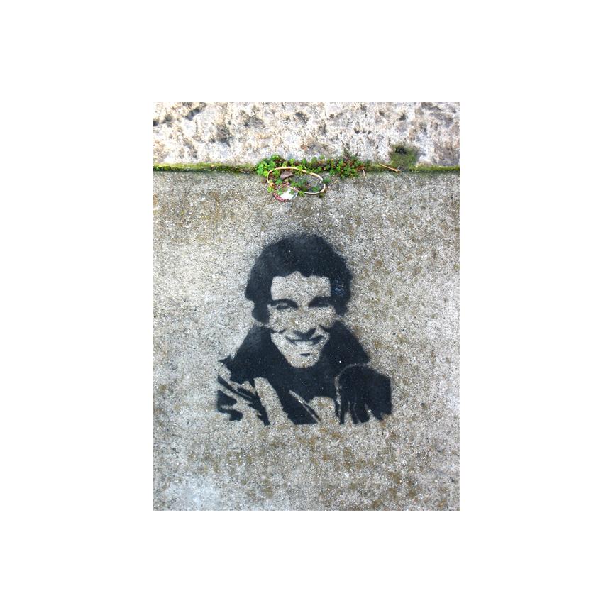 Clipper Street sidewalk art
