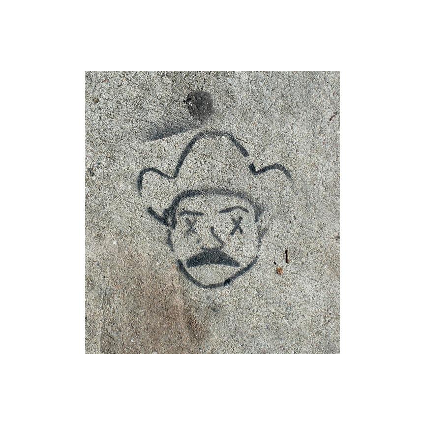 Shotwell Street sidewalk art