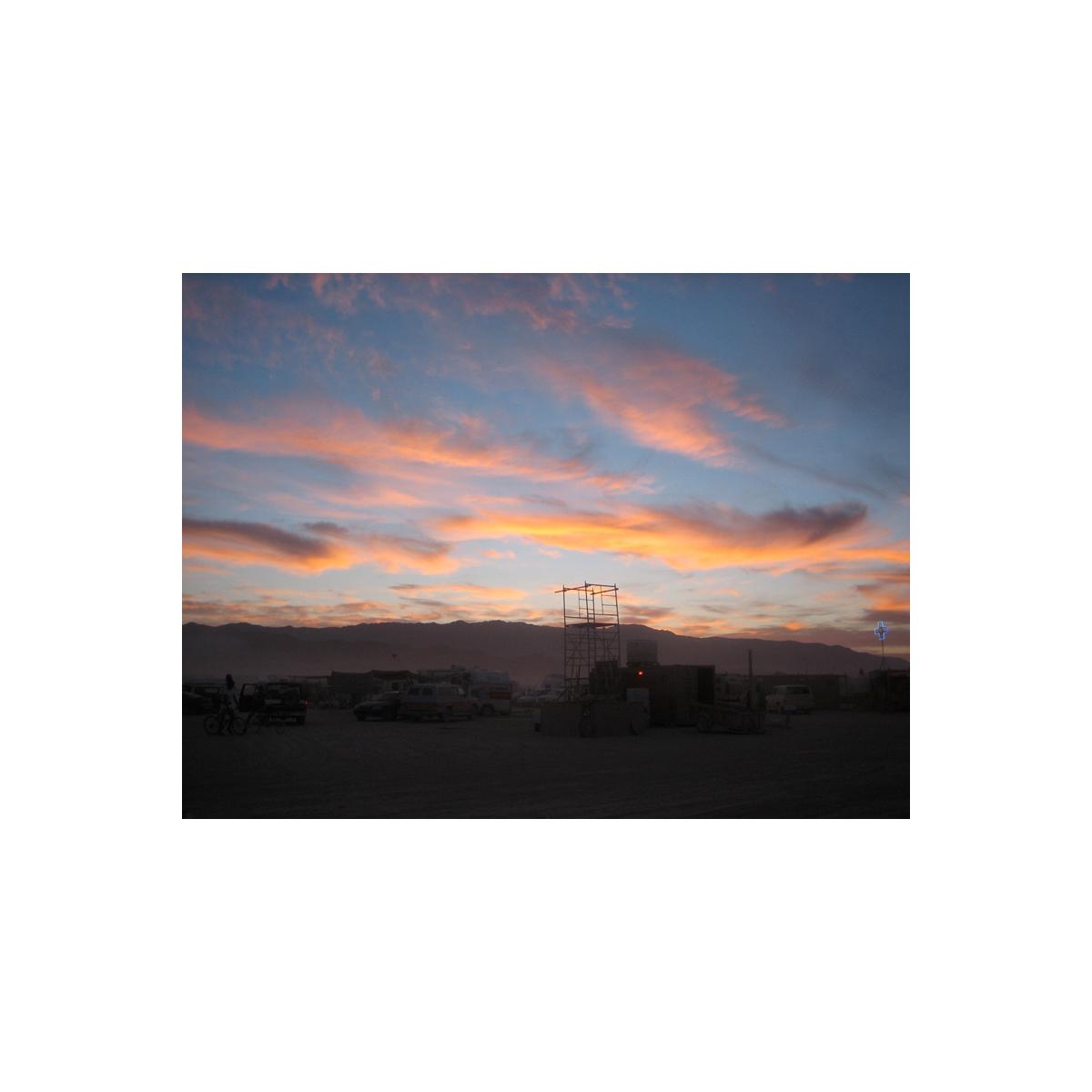 Evening at Burning Man
