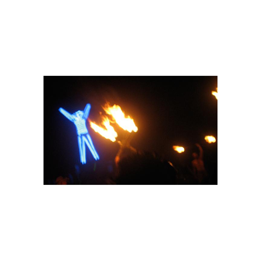 Burning the Man