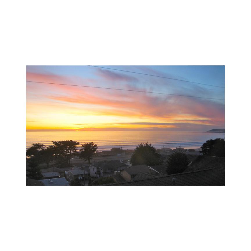 Sunset in Cayucos, CA