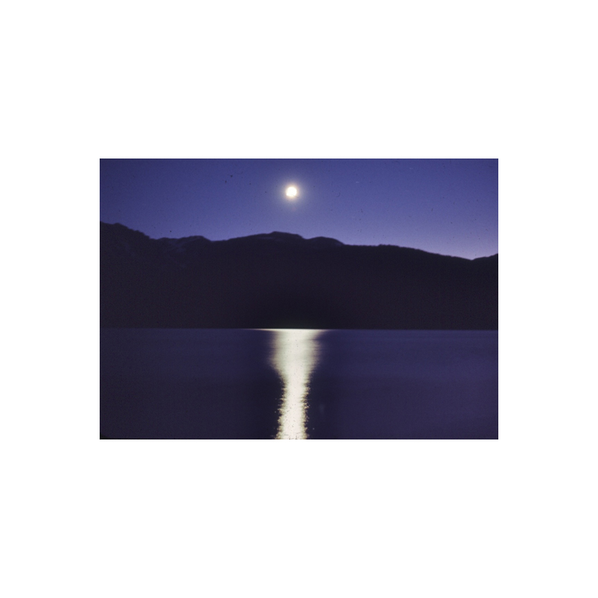 Moonrise over Tetons