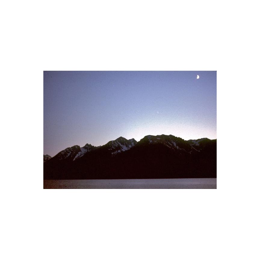 Evening at the Tetons