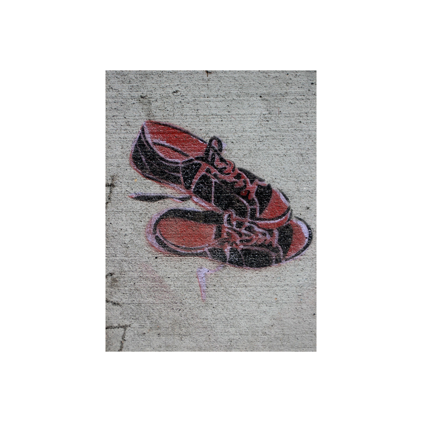 26th Street sidewalk art
