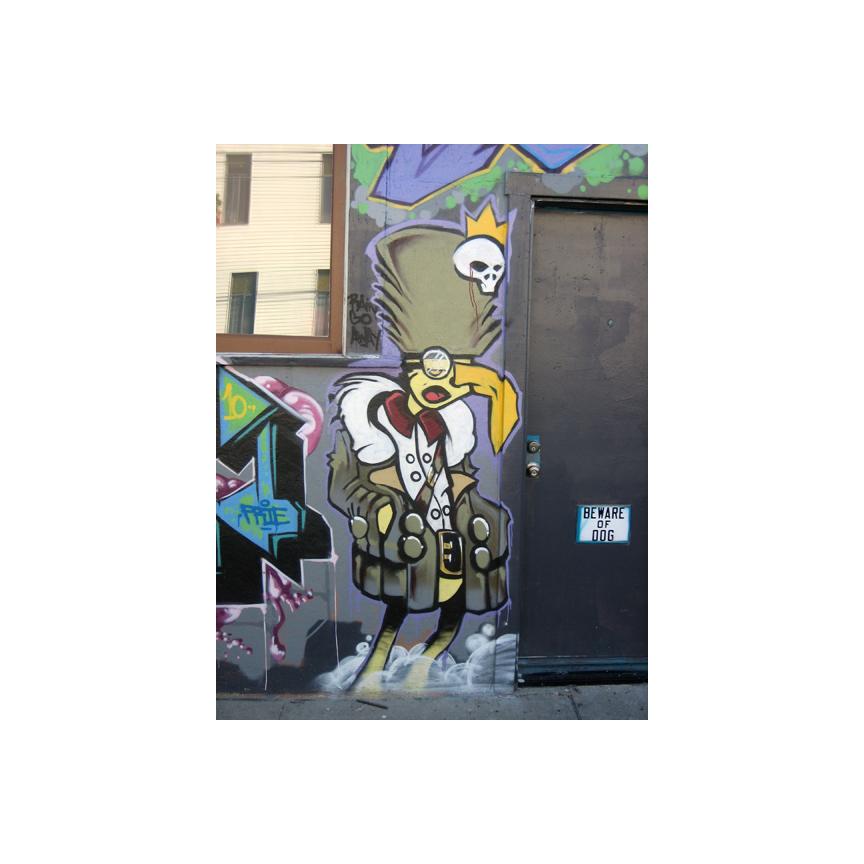 Treat Street wall art