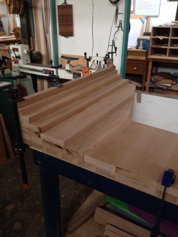 """Panel """"blank"""" before being shaped"""