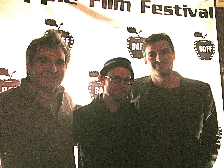 Sound mixer Ron Shaffer, writer:director Scott Kawczynski & editor Jesse Gordon.jpg