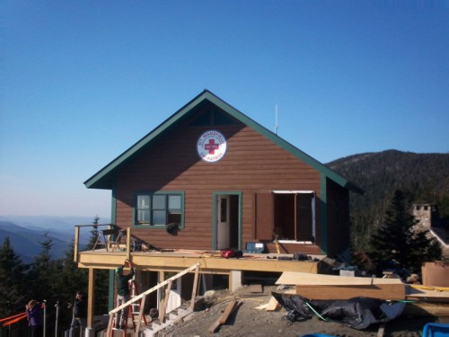 2011-10-24 The New Mt. Mansfield Ski Patrol Station at the top of the Quad