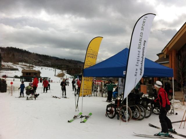 Chartis 2012 Winter Summit at Stowe Mountain Resort Benefits Disable Sports USA Warfighter Sports Program