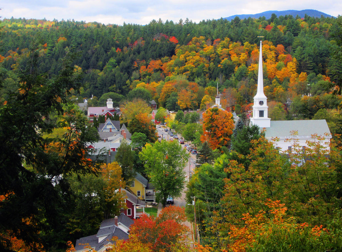 Stowe has been named the top U.S. fall foliage destination based upon TripAdvisor reviews. STOWE AREA ASSOCIATION / GOSTOWE.COM