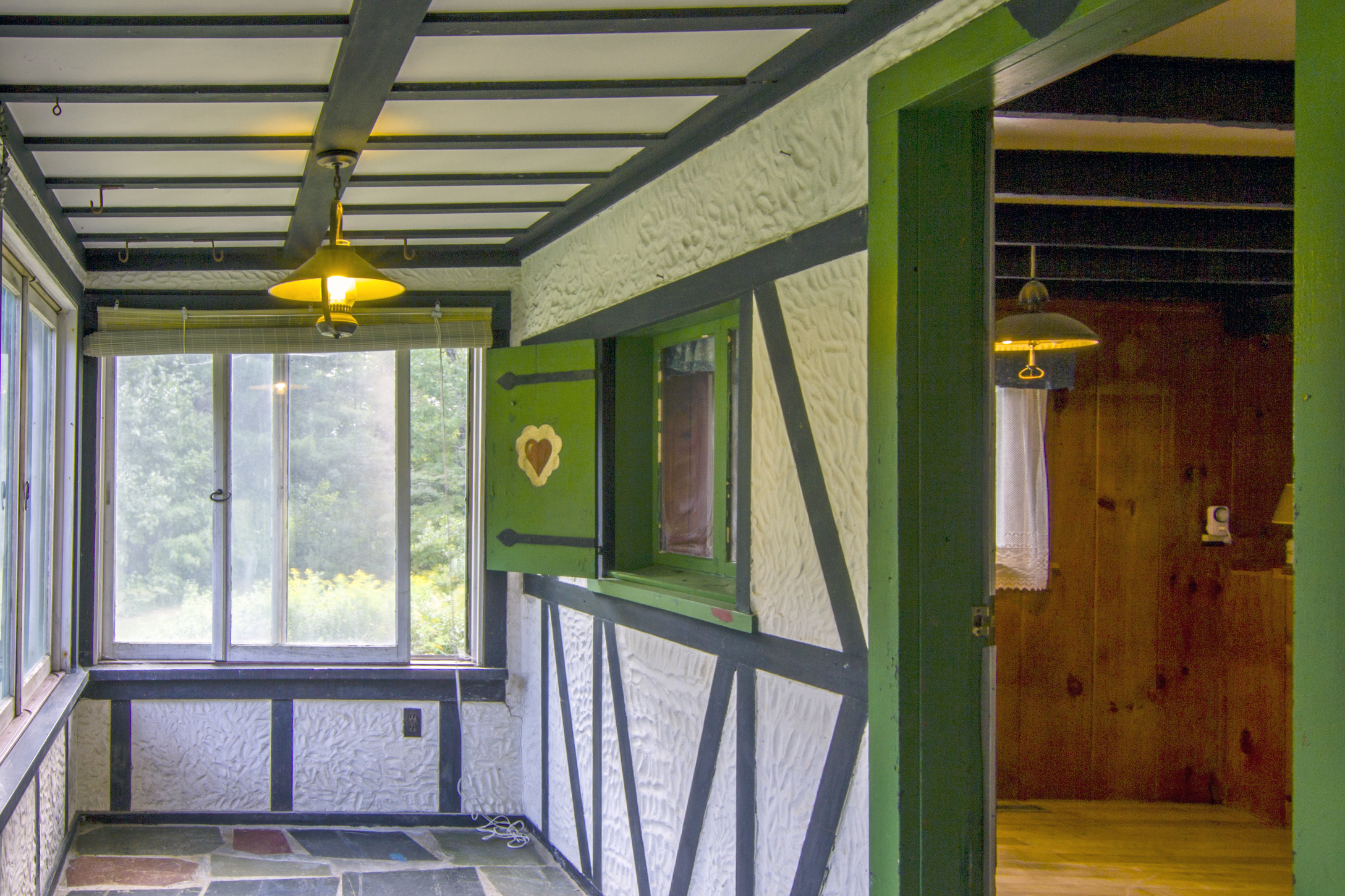 Screened-in Porch off the Kitchen