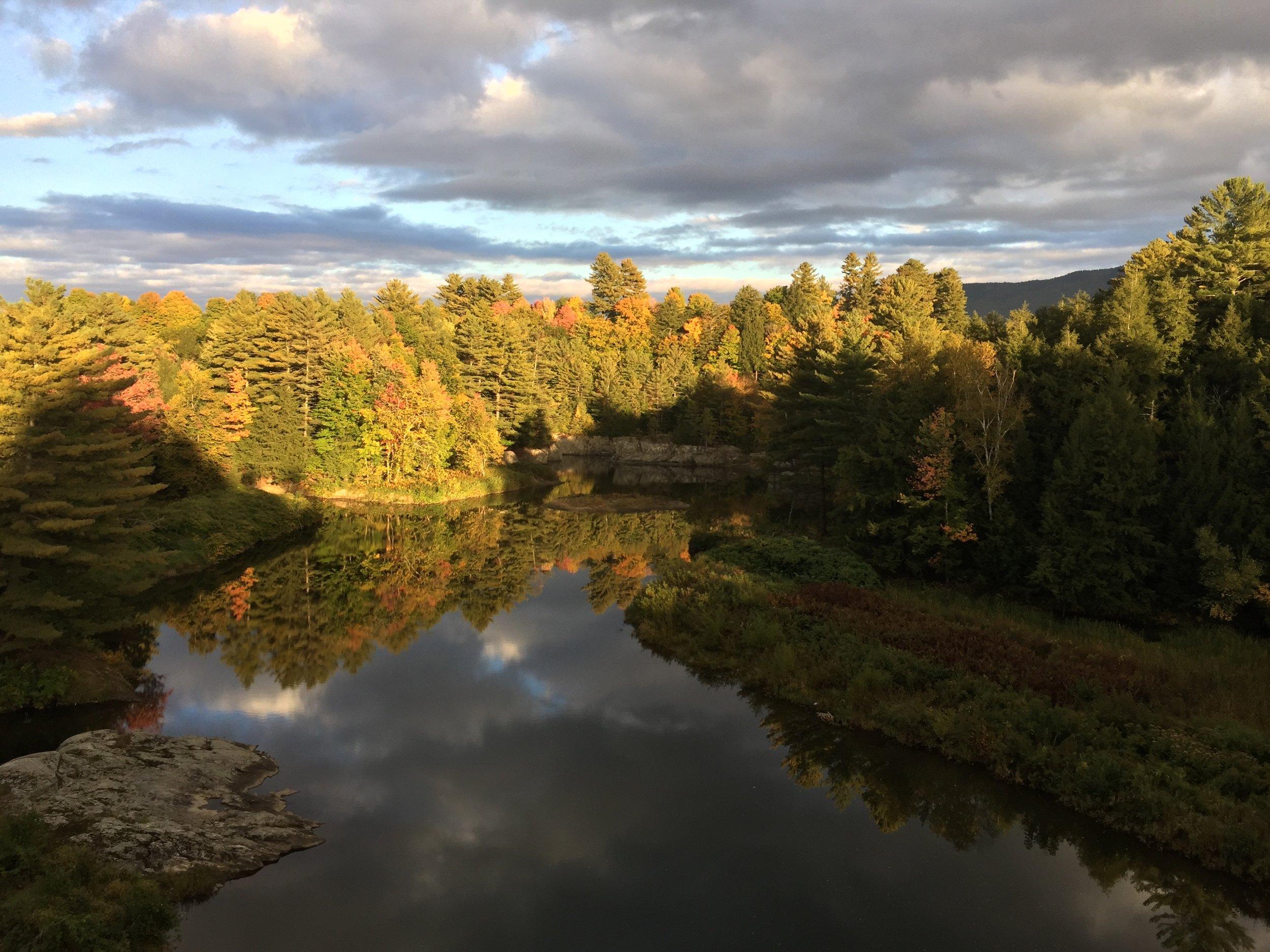 29-Autumn Light on Lake Lamoille