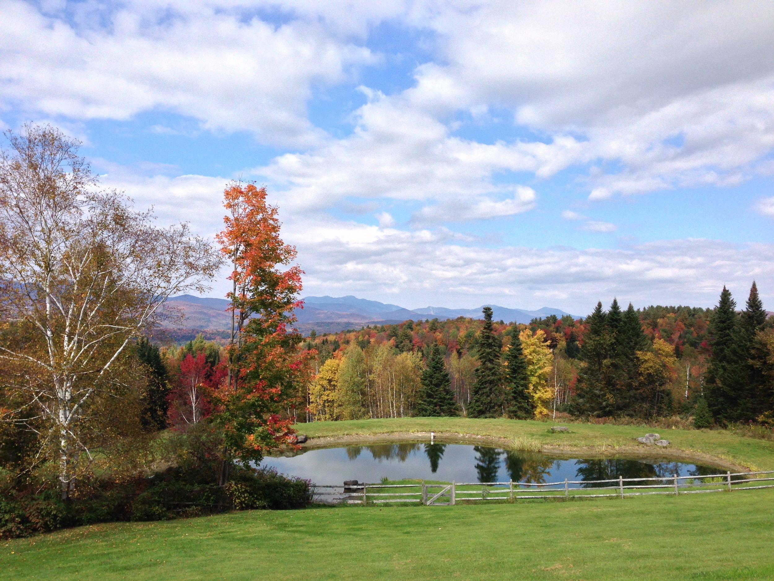 30-Pond in Waterbury, VT