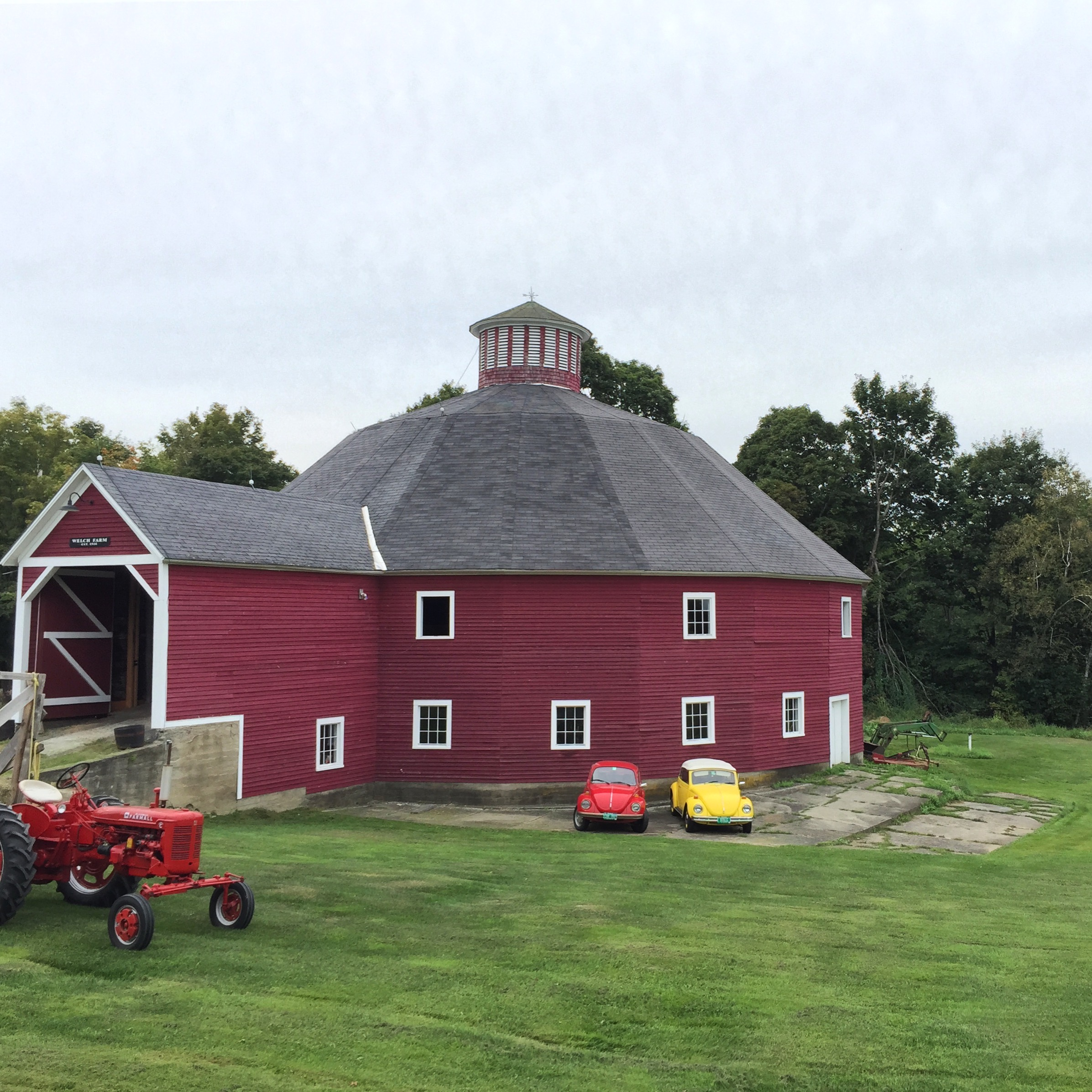 36-Round Barn on VT Rt. 12, Instagram Square