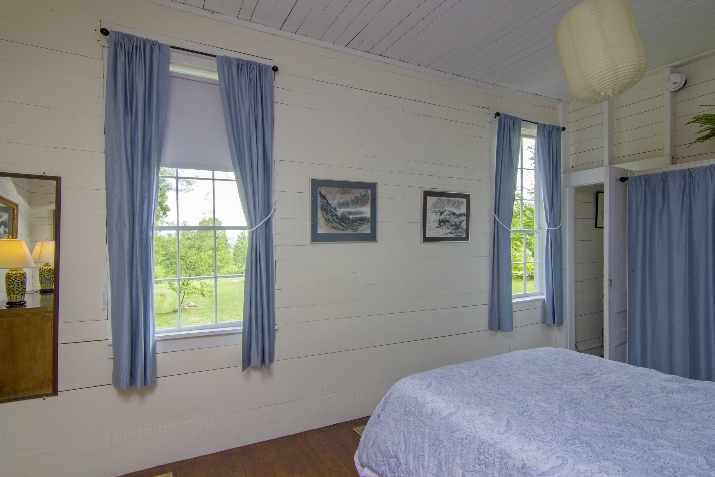 Master Bedroom with a view to the Lake