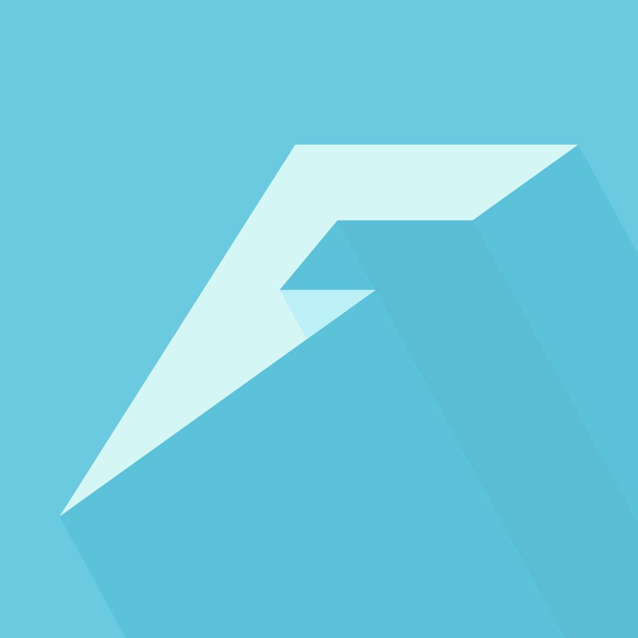 "Logo XII Emblem (Size = 1270), ""Farlanders Cyan"" Background PNG"