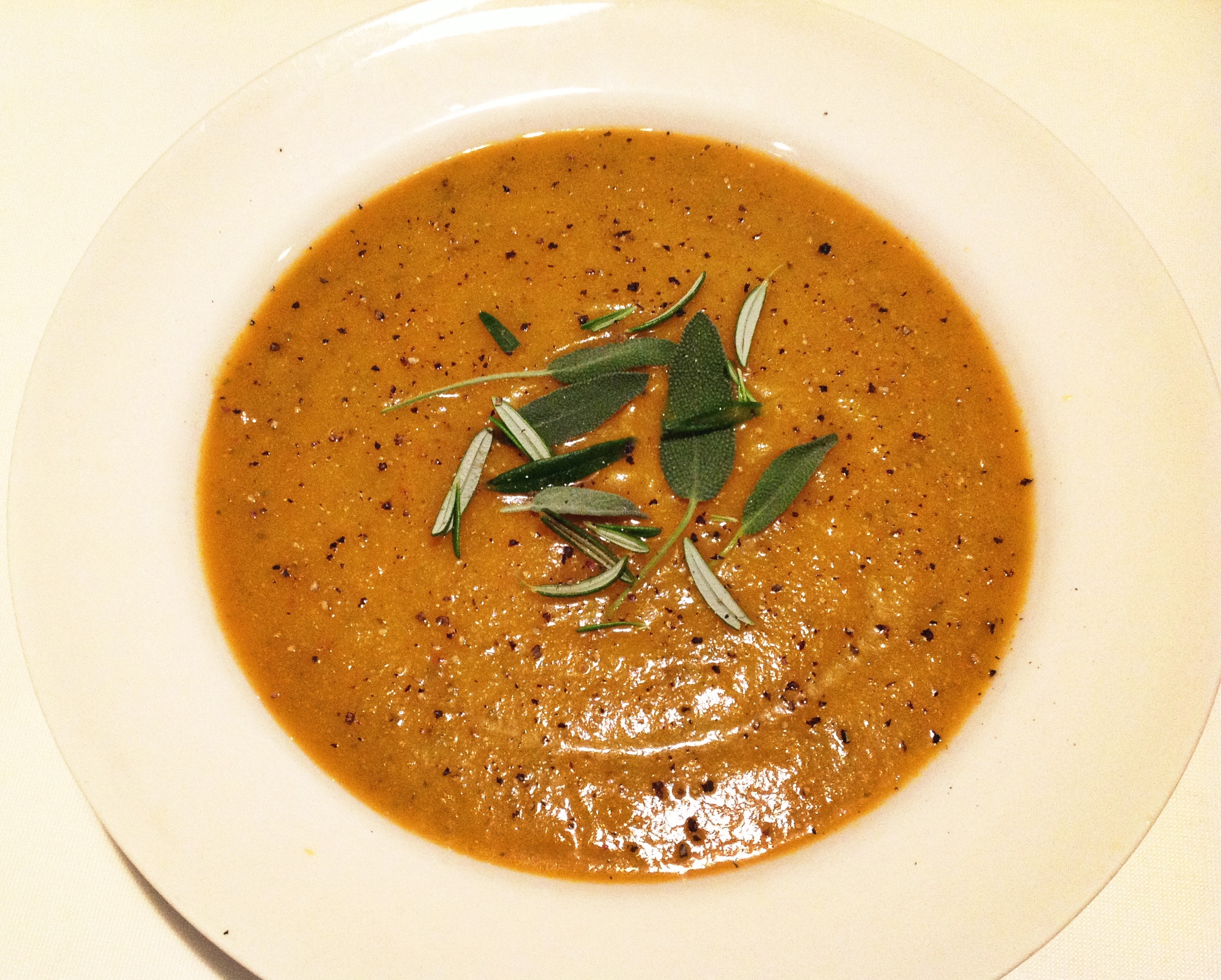 roast root veg soup
