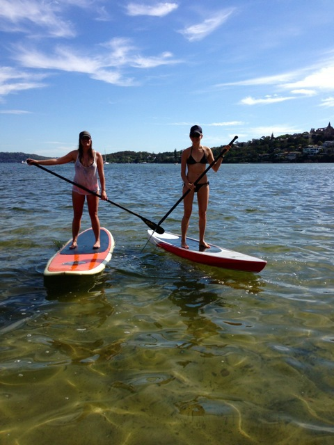 Cazz and me in Rose Bay