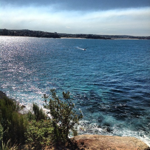 Walk around the North Head at Manly