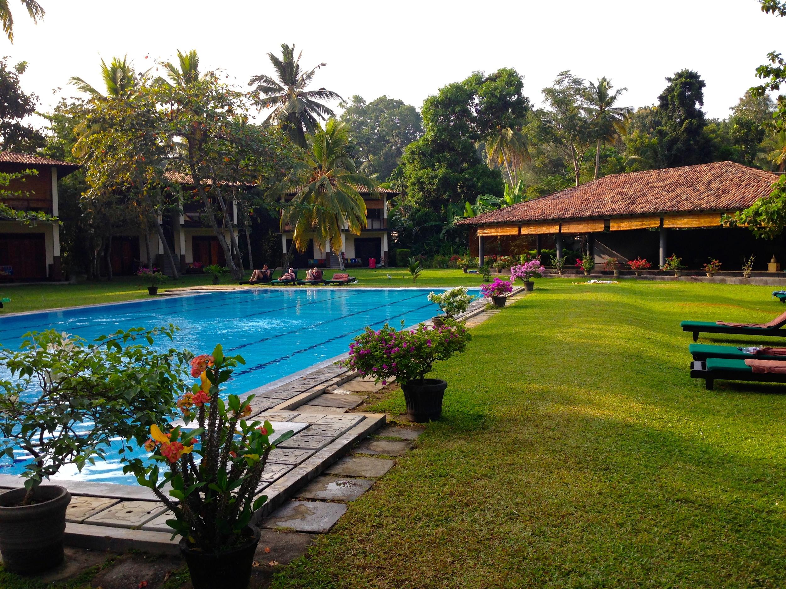 Pool at Talalla Retreat