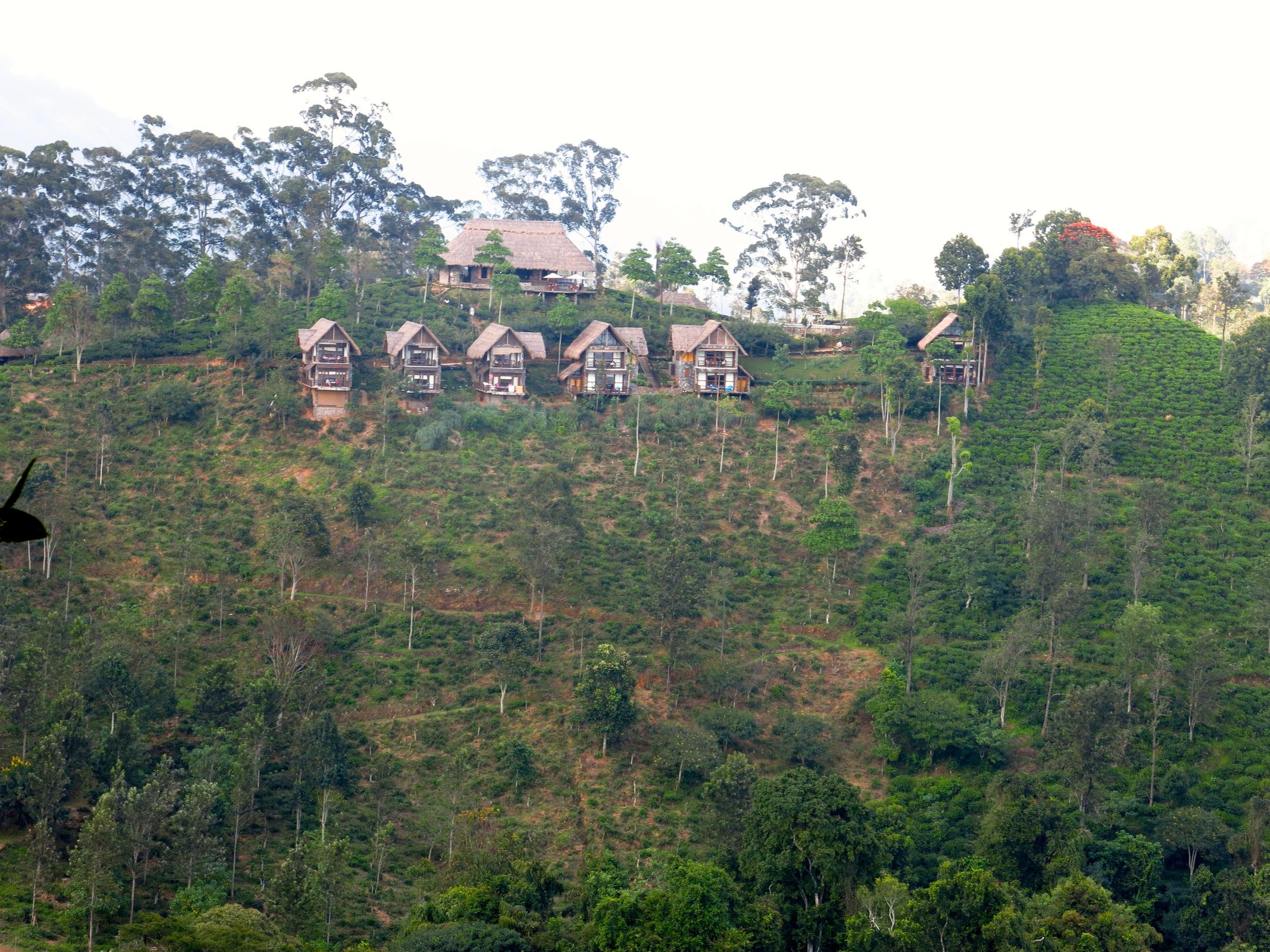 98 Acres Resort from the top of Little Adam's Peak