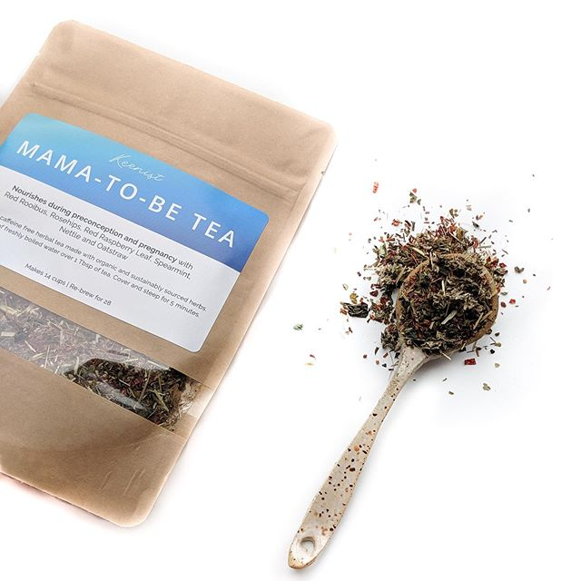 "Meet the newest addition to the Keenist line of organic herbal teas: Mama-to-be tea! As the name suggests, mama-to-be tea was created for my ladies who are looking to balance their hormones and/or optimize fertility in preparation for pregnancy. The highly nutritive herbs included in this blend are like a ""prenatal in a cup."" So even if babies aren't on the brain, this tea would be awesome for you if you're transitioning off hormonal birth control and dealing with wonky cycles and hormone imbalance symptoms. Also great for mamas who want to nourish their bodies with lots of vitamins and minerals post-partum. Just like my other blends (Detox Tea, Tummy Tea and Calming Tea), the herbs used are organic and sustainably sourced. Many are grown right here in Denver in my herbalist's @cleanbenefitscolorado garden! To learn more about Mama-to-be tea or any of the others, head to the products page on my website where you'll find everything you need! Link in bio ✌🏻"