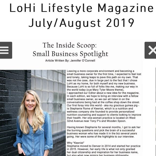 Thanks @lohilifestylemagazine and @jennkathoc for featuring me in this month's LoHi Lifestyle magazine small business spotlight! https://www.lohilifestyle.com/online-issue
