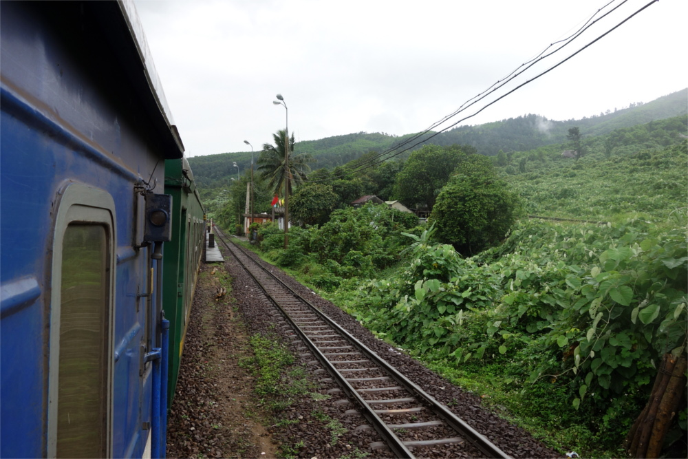 The scenic trains journeys are a great way to see the country.