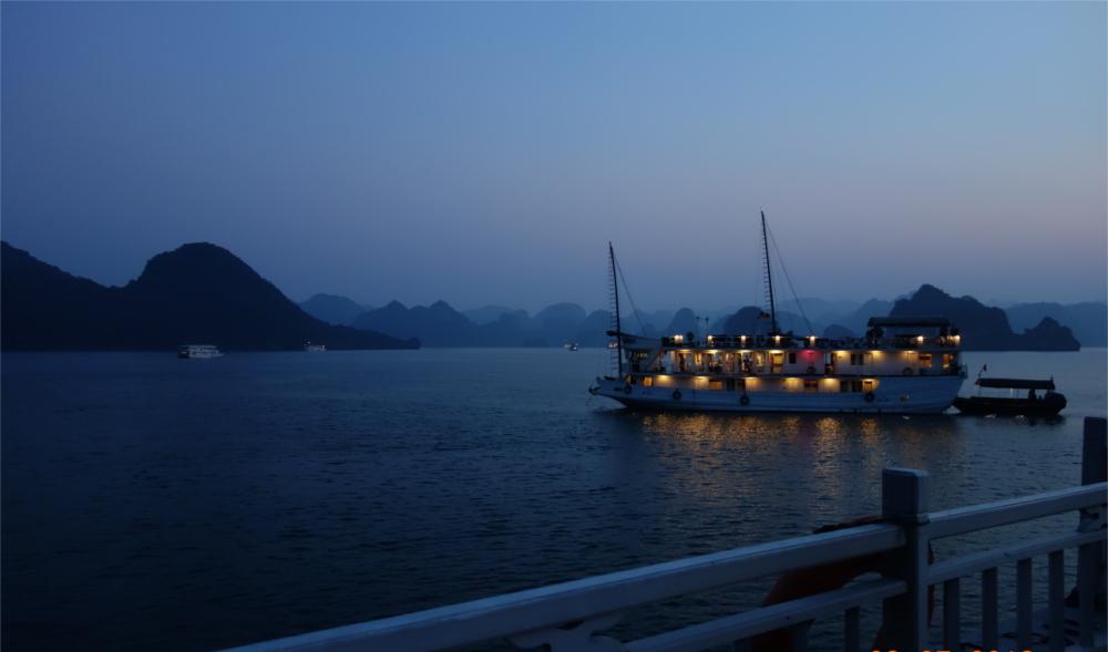 A night's stay on a boat is a must in Ha Long Bay.