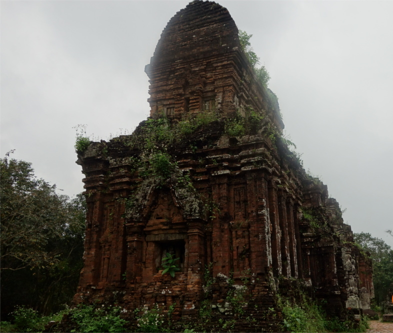 Dating back to 4th century AD, the ruins of the once glorious temples of My Son are a sight to behold. They consists of several temple clusters, only some of which still stand strong. Majority of the temples were bombed out of existance by the American forces during the Vietnam war.