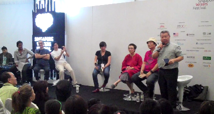Closing debate at SWF: This house computes that Singaporeans are illiterate robots?