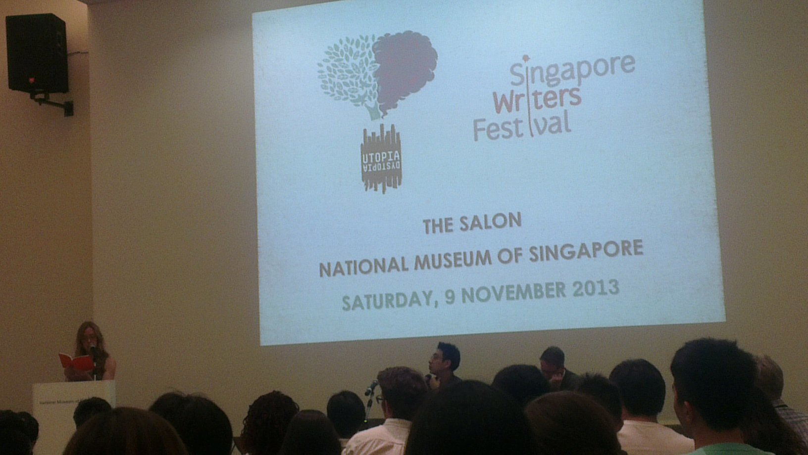 Poetry recitals by Nordic authors during SWF