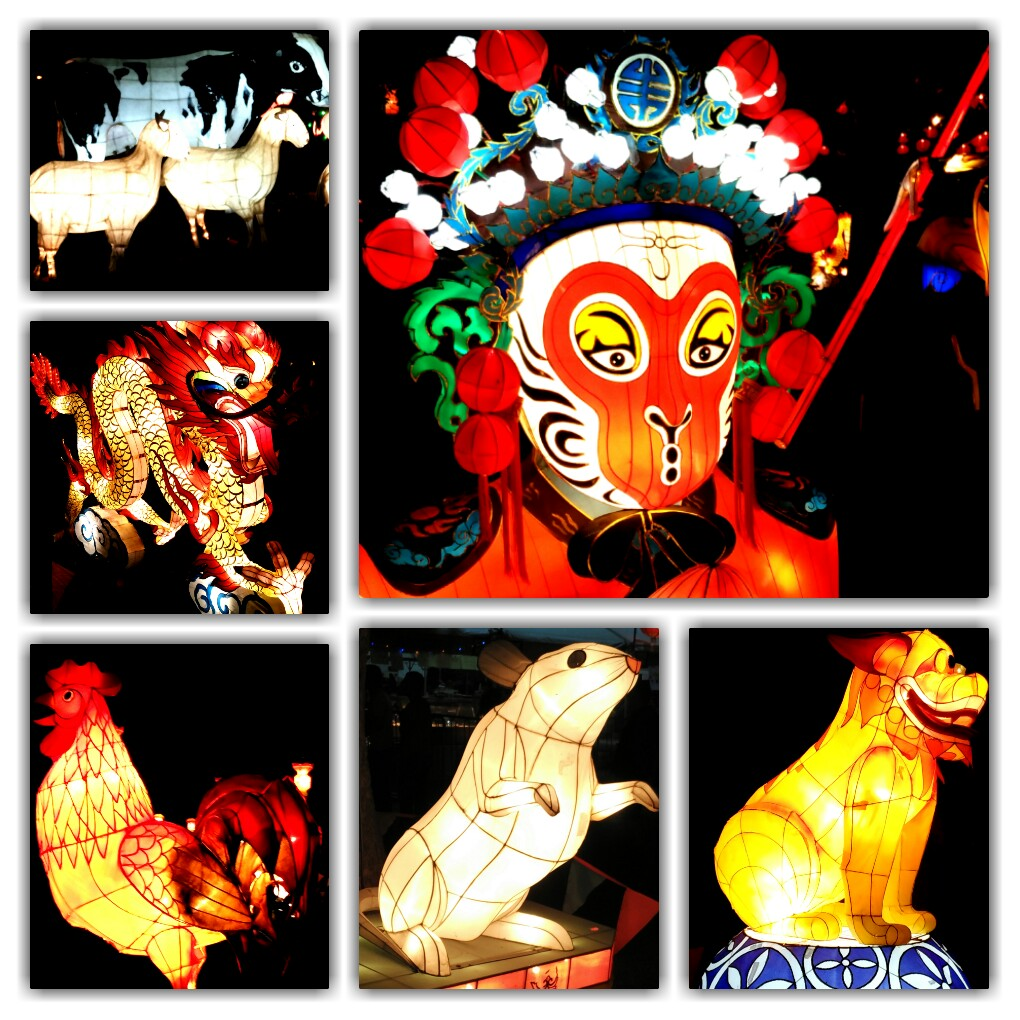 Welcoming the Year of the Monkey in Christchurch; New Zealand's favourite - Cow, made an appearance too!