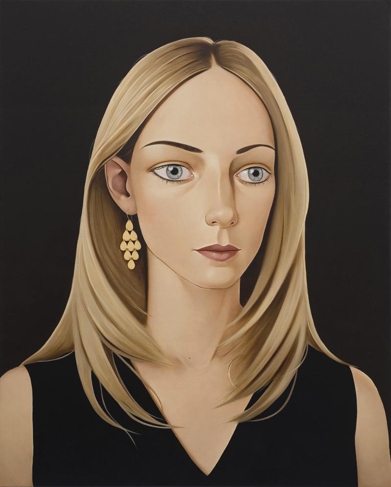 Amanda Steck Fuhrman, 2011 Acrylic on linen 39.4 x 31.5 inches