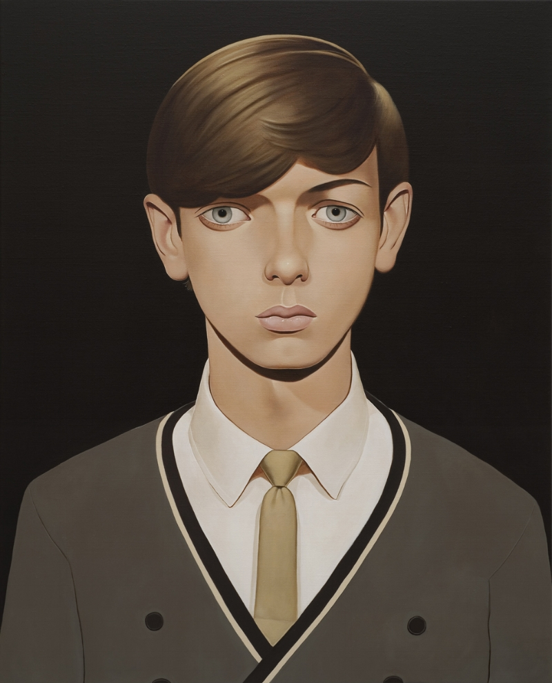 Joseph Honeywell, 2011 Acrylic on linen 39.4 x 31.5 inches